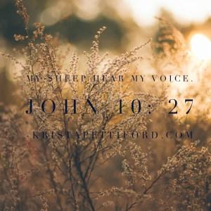 How to Hear God, Again.