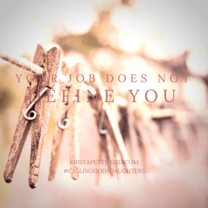 Your Job Does Not Define You