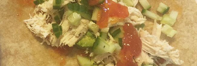chicken pepper jelly wrap