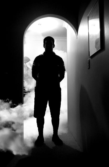 GIMP - photo noir
