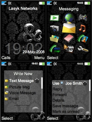 sony ericsson phone theme
