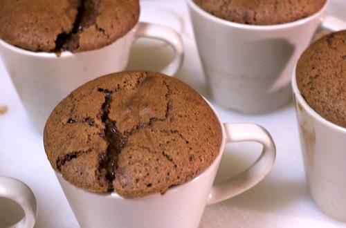 Chocolate Fudge Puddings