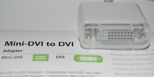 DVI adaptor