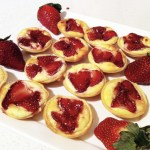Strawberry ricotta tarts