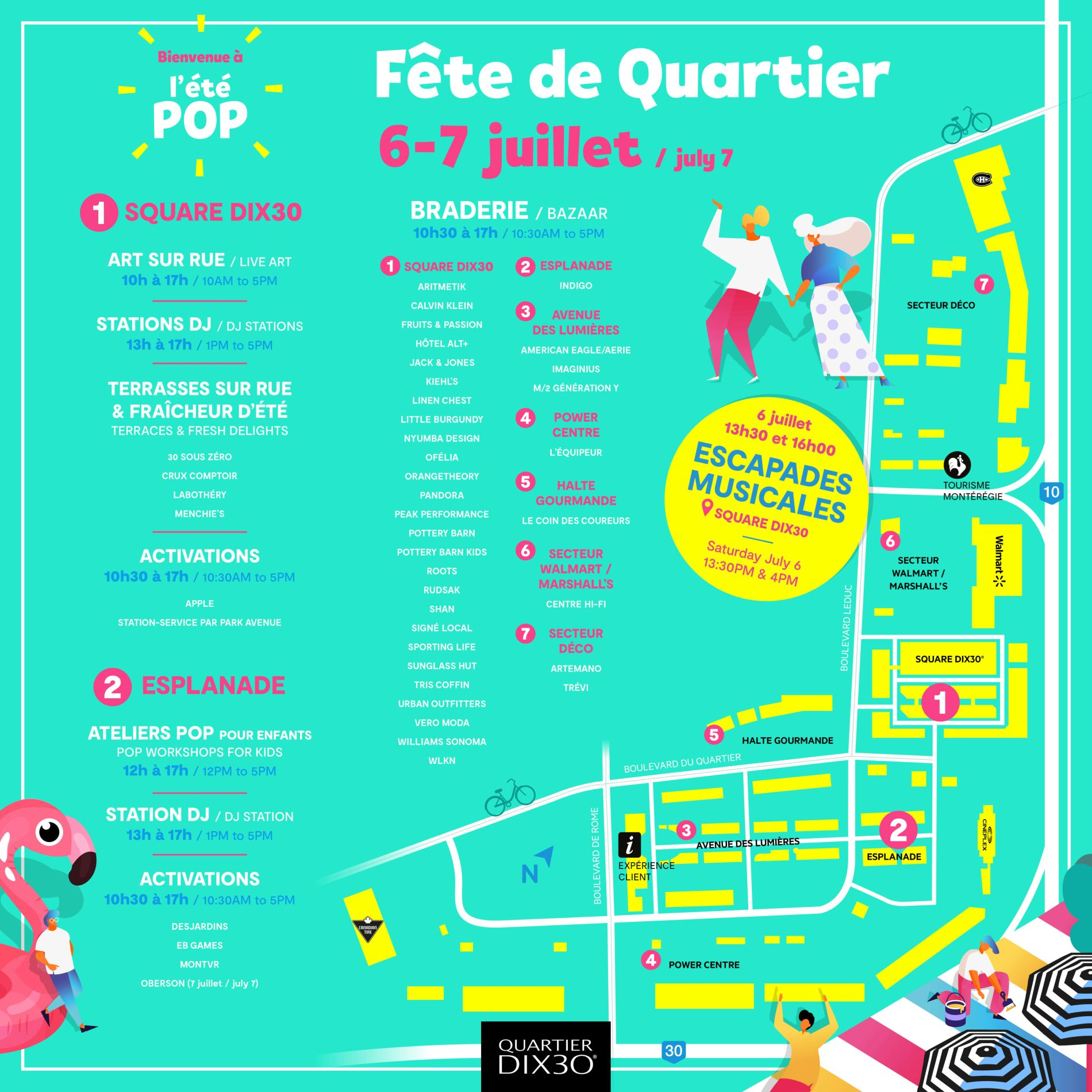 Family Day: Quartier DIX30 Block Party
