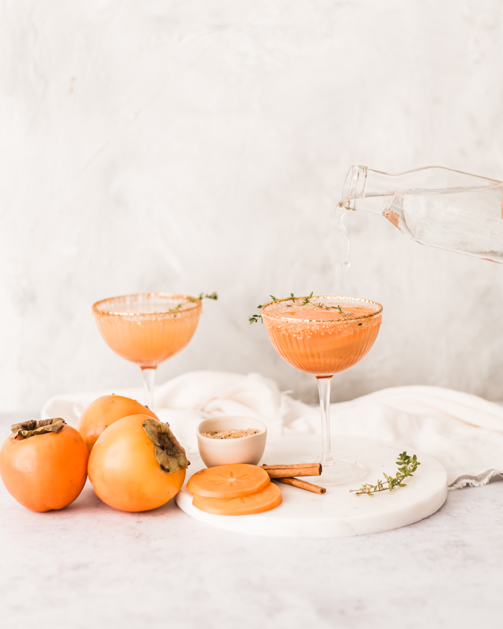 persiMon® Bourbon Fizz Cocktail | #bourboncocktail #persimmon #persimmoncocktail #winterdrinks