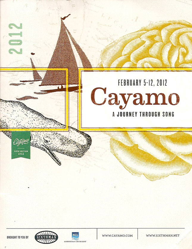 Cayamo-2012-Program-00-Cover