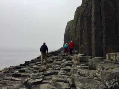 Isle of Staffa: Walk to Fingal's Cave