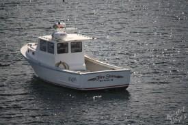 Monhegan Island: Fire Storm Lobster Boat