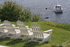 Monhegan Island: Happy Hour View (from the Island Inn)