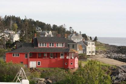 Monhegan Island: The Red House