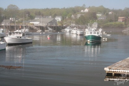 Point of Departure for Monhegan Island: New Harbor