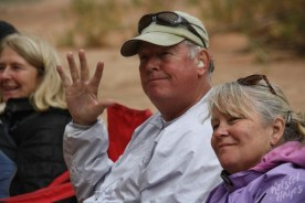 San Juan River: Scott & Karen