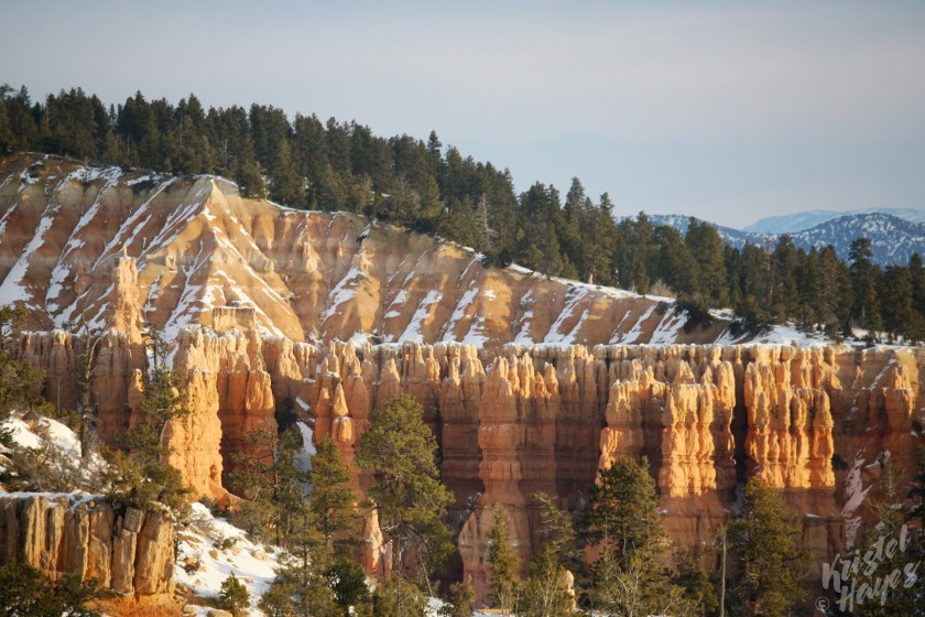 Magic Morning Light in Bryce Canyon