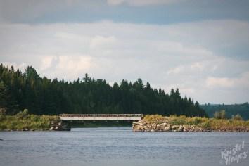 The Thoroughfare Allagash River