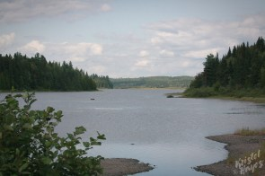 View of Umsaskis Lake from Sandy Point