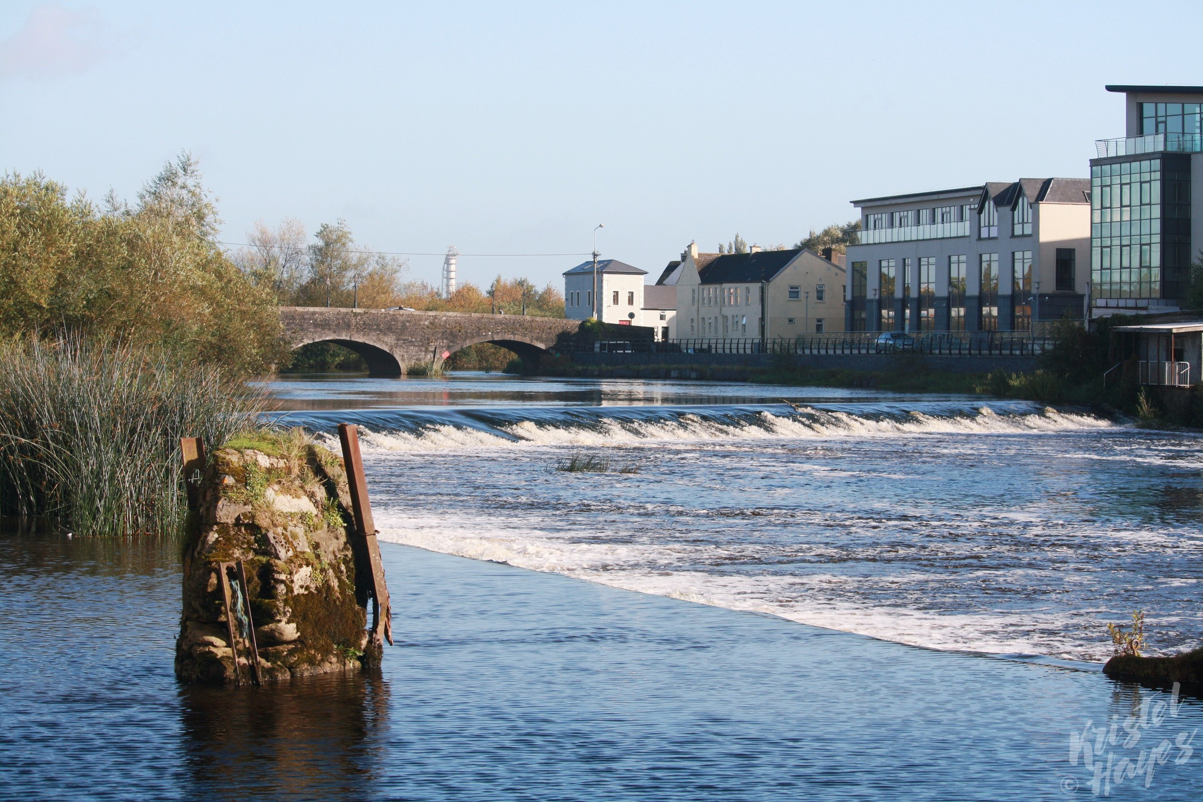 Carlow Wier-River Barrow, Ireland