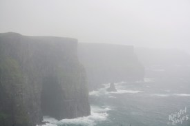 Foggy Cliffs of Moher, Ireland
