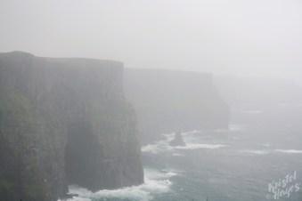 Foggy Cliffs of Moher, Ireland