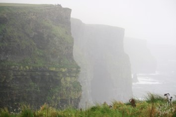 Foggy View-Cliffs of Moher, Ireland