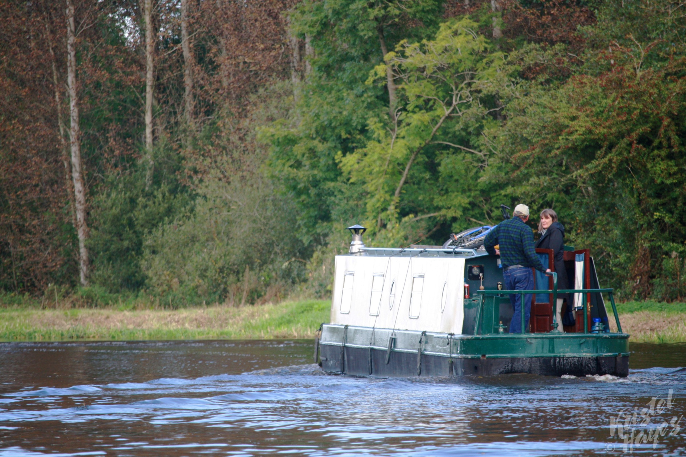 Kurt & Jen's Narrow Boat-River Barrow, Ireland