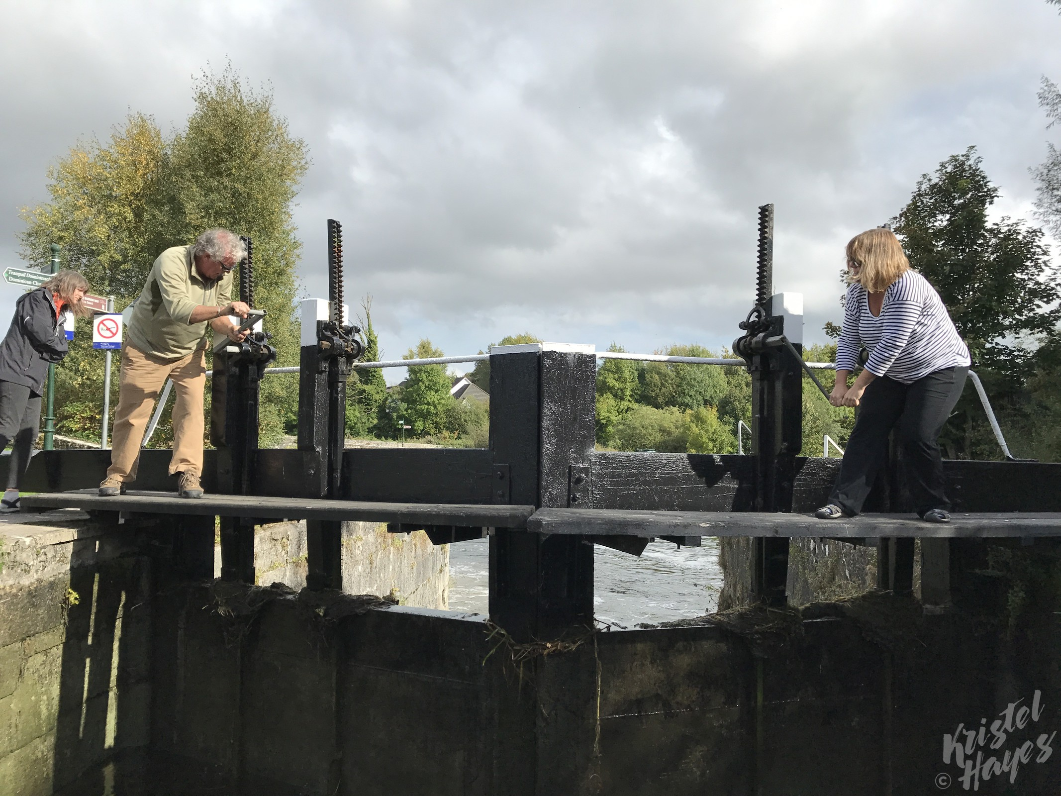 Managing Locks on the River Barrow, Ireland