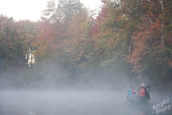 Sunrise Canoe-Royal River, Yarmouth Maine