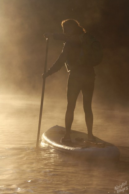 SUP Into the Light-Royal River, Yarmouth Maine