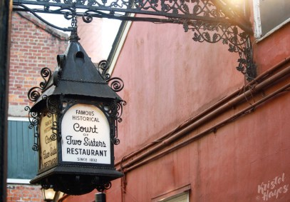NOLA | Bourbon Street | Court of Two Sisters