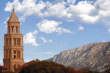 Split Croatia Skyline