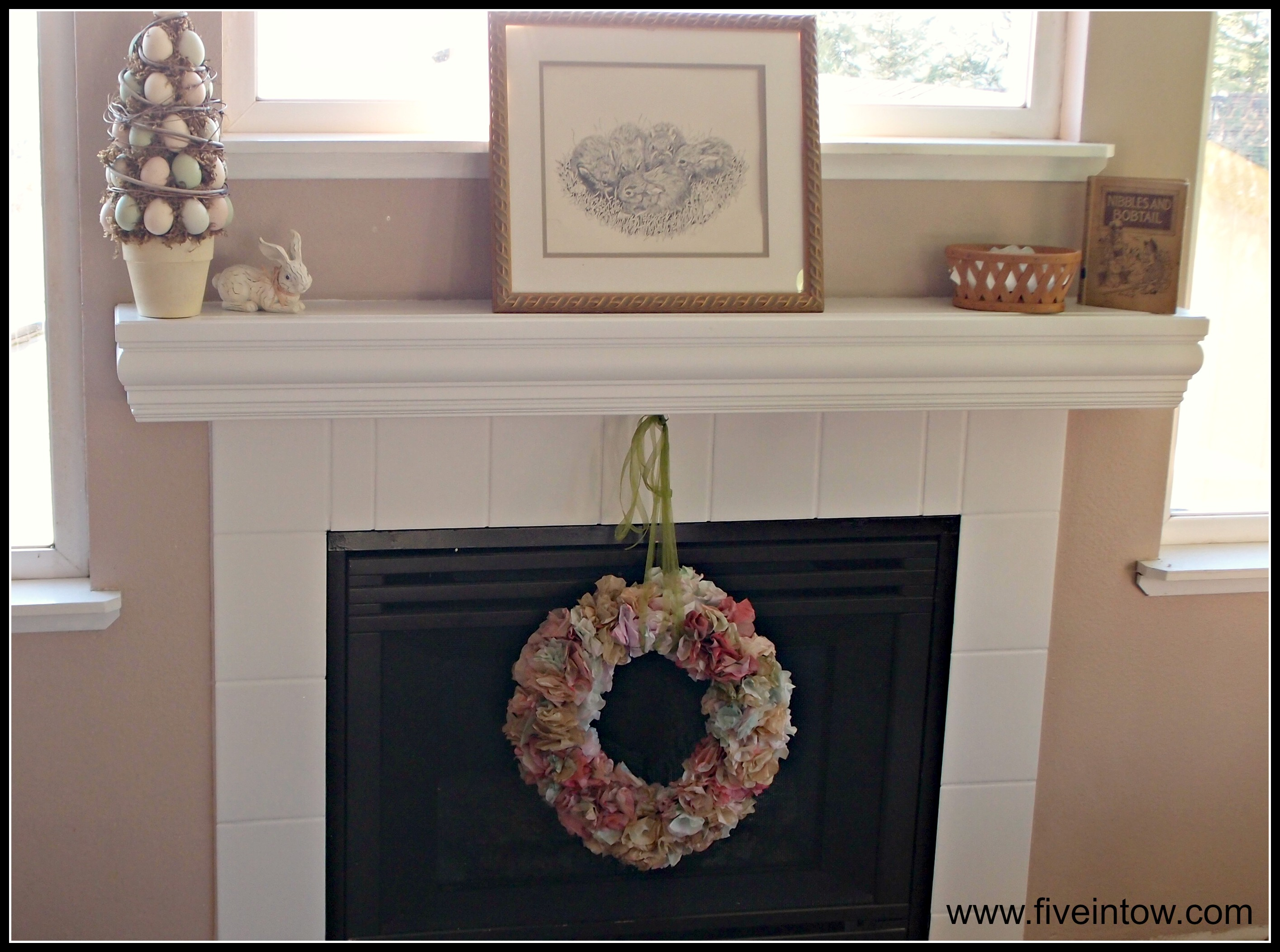 Painting Tile And Other Ways To Save An Ugly Fireplace Kristen