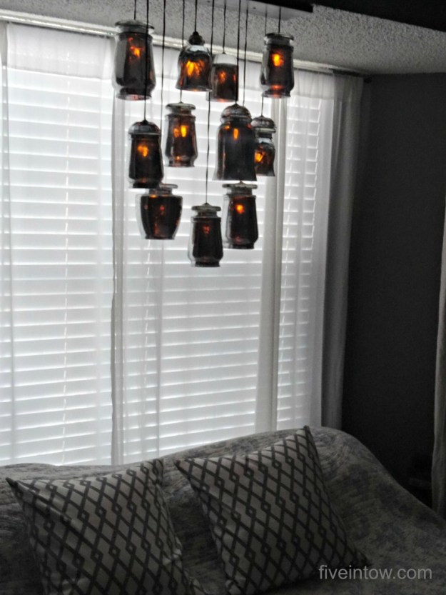DIY Pottery Barn Chandelier