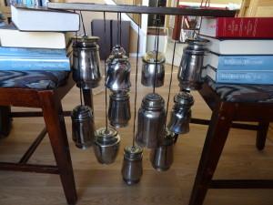 Mercury Glass chandelier