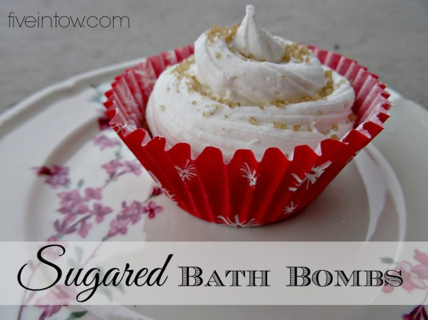 DIY Sugared Bath Bombs