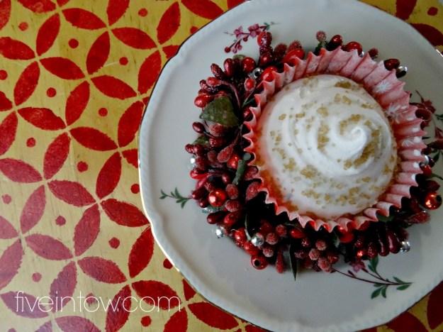 DIY bath cupcake