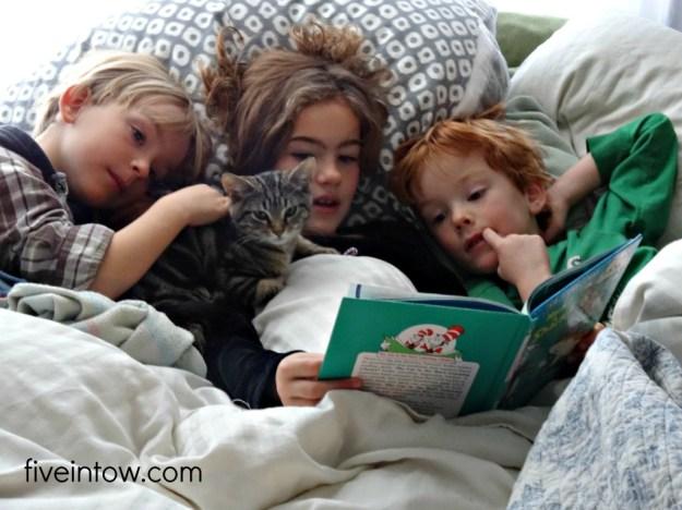 Triplets reading