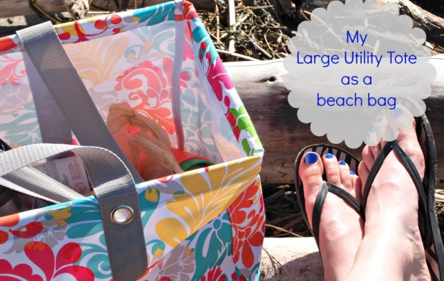 Large Utility Tote Beach Bag