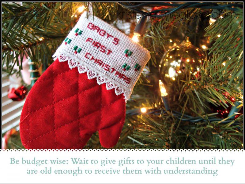 zero-budget Christmas kids