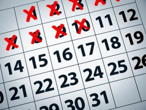calendar-with-red-x's