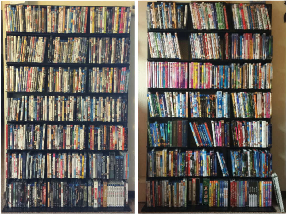 dvd bluray collection