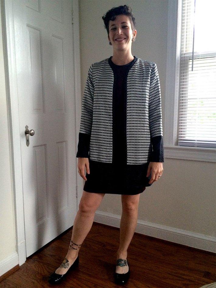 Sweet Rain Acadia Jacket (with Elly Dress)