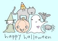 cute happy halloween pictures