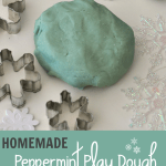 Peppermint Playdough Recipe