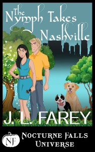 The Nymph Takes Nashville Ebook Cover Full