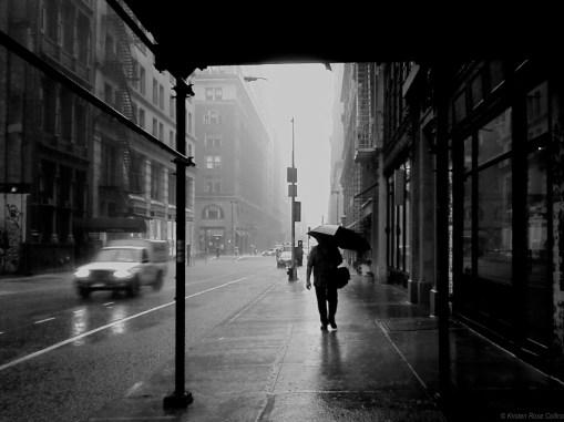 On a Rainy New York Day
