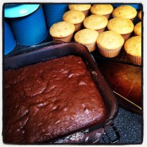 Photo of cooling cake