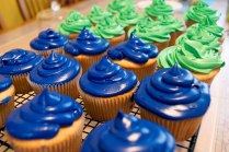 Seahawks Cupcakes