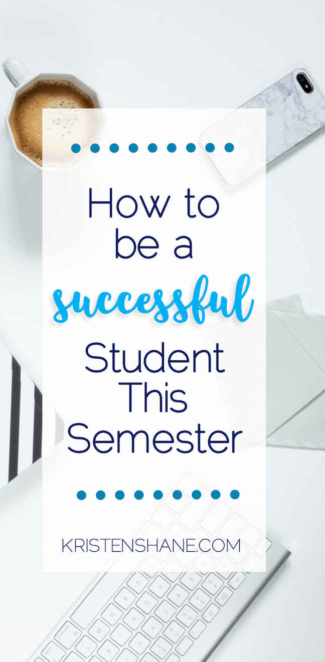tips for being a successful college student