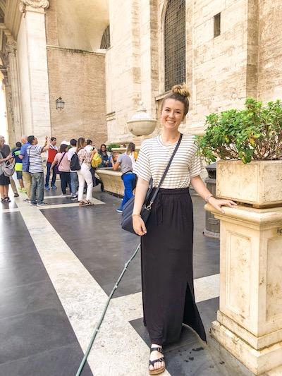 Kristen Shane Europe St Peter's
