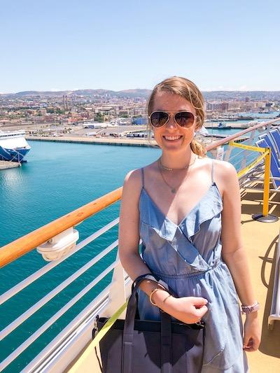 Kristen Shane Europe cruise